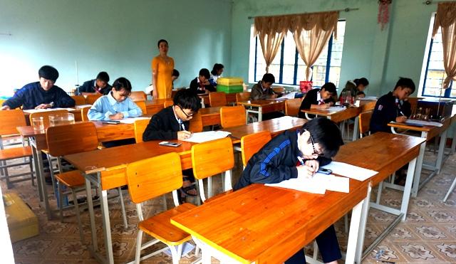 Khai mạc Kỳ thi Thí nghiệm thực hành cấp huyện năm học 2017 - 2018