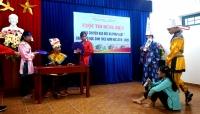 """Cuộc thi hùng biện """"Câu chuyện đạo đức và pháp luật"""" dành cho học sinh THCS huyện Quế Sơn năm học 2019-2020"""