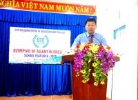 """Cuộc thi Olympic """"Tài năng tiếng Anh"""" (OTE) cấp THCS huyện Quế Sơn năm học 2018-2019"""