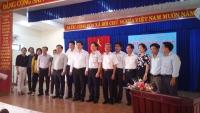Đoàn công tác của Sở GDĐT TP Hà Nội đến thăm và làm việc với Ngành GDĐT huyện nhà