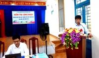 Đoàn Kiểm tra của tỉnh Quảng Nam kiểm tra công nhận huyện Quế Sơn đạt chuẩn Phổ cập giáo dục và Xóa mù chữ năm 2018