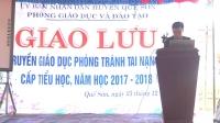 Giao lưu  tuyên truyền giáo dục phòng tránh tai nạn bom mìn cấp tiểu học các phòng GDĐT thuộc dự án tỉnh Quảng Nam
