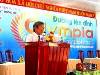 HỘI THI ĐƯỜNG LÊN ĐỈNH OLYMPIA - THCS - HÈ 2015