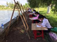 Hội thi Mỹ thuật thiếu nhi huyện Quế Sơn năm 2017