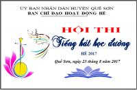 Hội thi Tiếng hát học đường hè 2017
