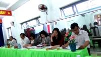 Kiểm tra công nhận hai Trường Mẫu giáo Quế Châu và Mẫu giáo Quế Phú đạt chuẩn quốc gia mức độ 1