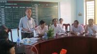 Kiểm tra công nhận Trường THCS Quế Minh và Trường THCS Quế Long đạt chuẩn quốc gia năm 2015