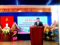 Lễ Kỷ niệm 70 năm nền Giáo dục Việt Nam (1945-2015); 33 năm ngày Nhà giáo Việt Nam và Tuyên dương khen thưởng năm học 2014-2015