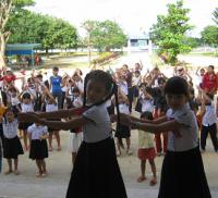Liên đội  trường Tiểu học Hương An tổ chức lớp tập huấn công tác đội.