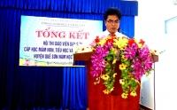 Tổng kết Hội thi Giáo viên dạy giỏi cấp học Mầm non, Tiểu học, Trung học cơ sở huyện Quế Sơn năm học 2018-2019