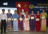 Trường TH Hương An tổ chức sinh hoạt kỷ niệm 84 năm ngày thành lập Hội liên hiệp phụ nữ Việt Nam