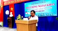 Trường THCS Quế Phú tổ chức Ngày Sách Việt Nam 21/4, lần thứ 6 năm 2019