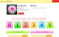 Tự học toán với online math
