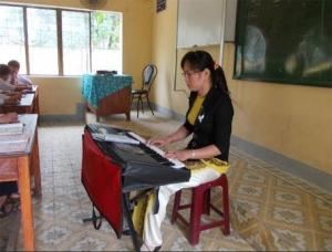 Quế Sơn đưa dân ca vào trường học
