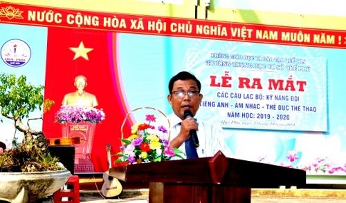 Trường THCS Quế Phú tổ chức Lễ Ra mắt các Câu lạc bộ năm học 2019-2020